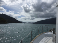 WAIRANGI- THE JOURNEY NORTH - PICTON TO AUCKLAND- PT. 1- ON HER WAY -TORY CHANNEL