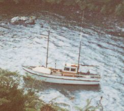 9, Taramea renamed Gail I, at Leask's Bay