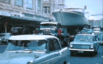 WHITE CLOUD SUMMER ST TO PENROSE - IN PONSONBY RD - JUNE 1965