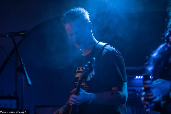 JoSe of Waiting in Vain at Club Eule in Dresden on 20 September 2019