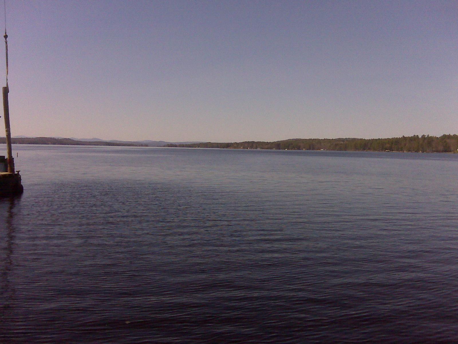 Sebago Lake from the Causeway