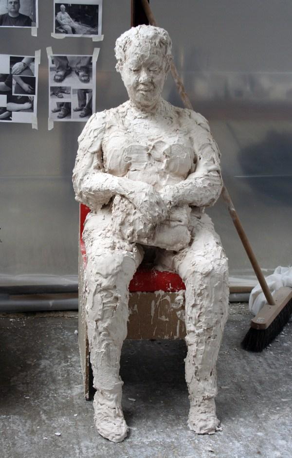 Build Plaster Person Waitinginwalthamstow
