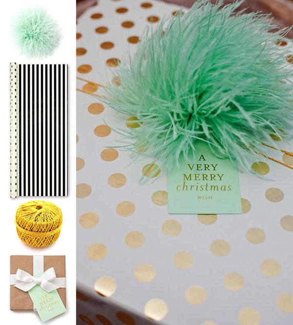 Faux pinecones || Nutcracker wrap || Velvet ribbon || Faux berries & The Art of Gift Wrap | Waiting on Martha