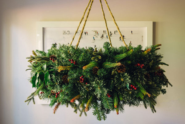 Hanging Wreath Chandelier Tutorial Welcome By Waiting On Martha