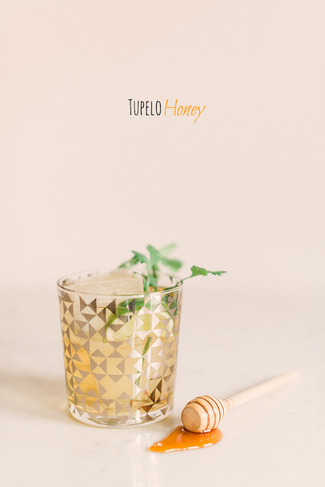 Tupelo Honey, one of the best southern cocktails