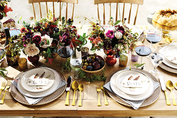 A Fall Tablescape with Ballard Designs, Waiting On Martha