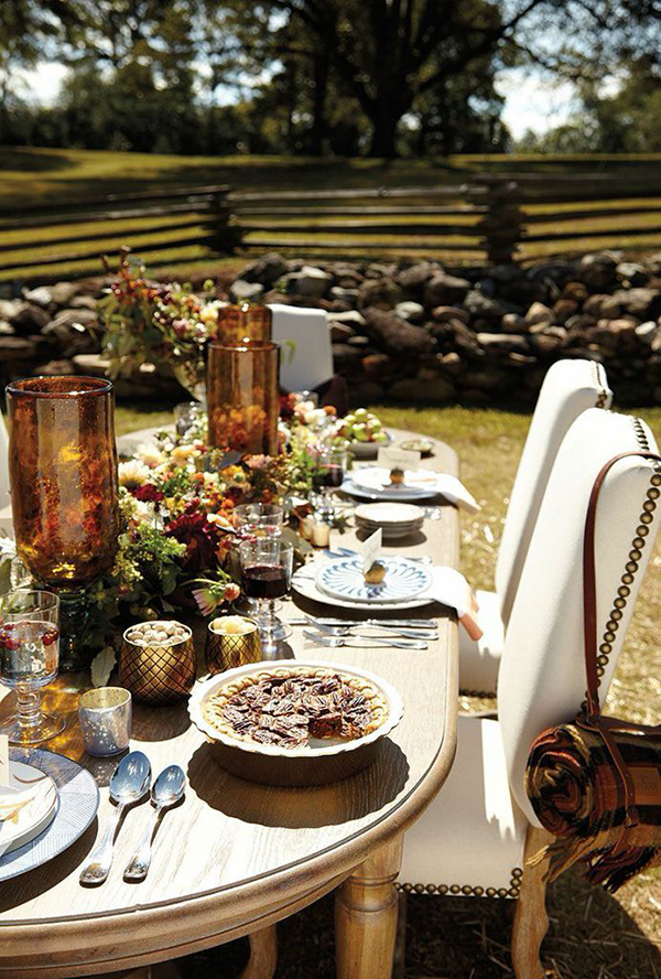 Thanksgiving Table Ideas, Waiting On Martha