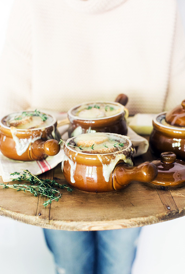 Homemade Smoked French Onion Soup, Waiting On Martha || Photography Kathryn McCrary
