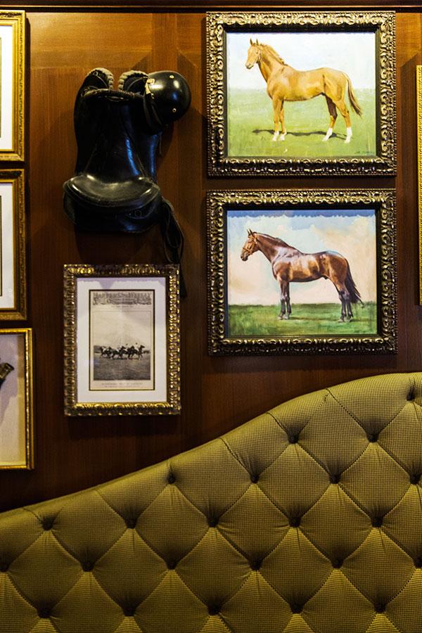 Equestrian details in Charleston