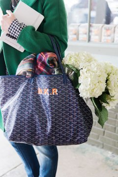 Monogrammed Goyard, Waiting On Martha | Photography, Kathryn McCrary