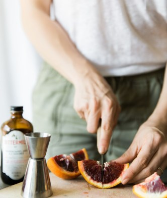 recipe for rhubarb old fashioned