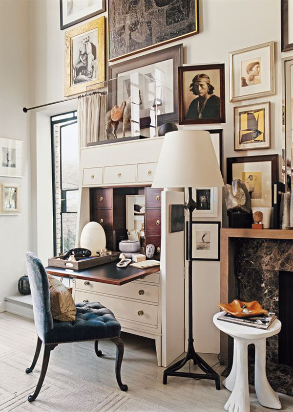 GALLERY WALLS COME IN ALL SHAPES & SIZES