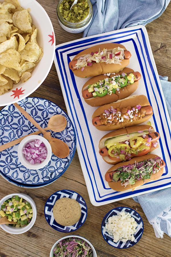 The Hot Dog: 5 Ways #recipe, Waiting on Martha