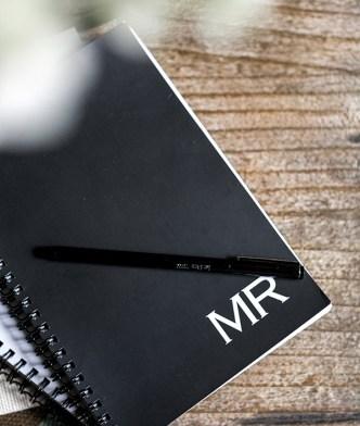 When inspiration strikes, keep a notebook close