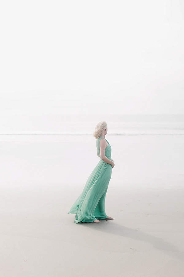 Seafoam green gown, Waiting on Martha