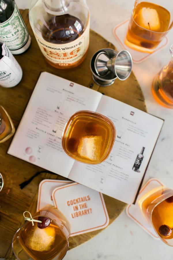 The Classic Manhattan cocktail recipe