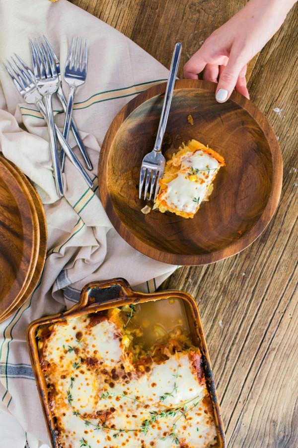 Homemade Spaghetti Squash Lasagna
