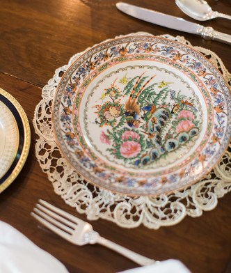 Vintage placesetting | Waiting on Martha