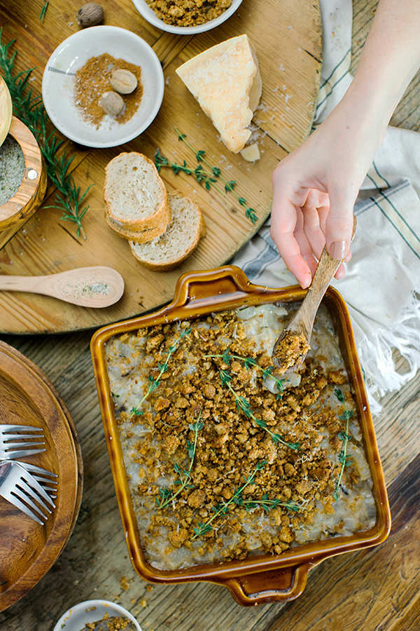 Vidalia Onion Bake with Homemade Herb Bread Crumbs recipe, Waiting on Martha