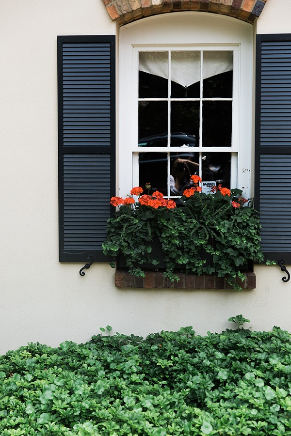 Flower window boxes spotted in Greenville, SC | Waiting on Martha