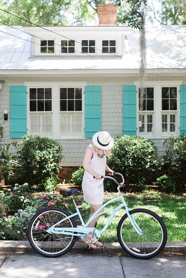 A summer bike ride in charming Beaufort, SC | Waiting on Martha