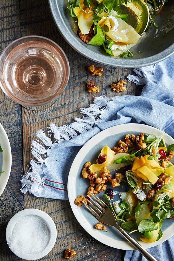 Butternut Squash Salad via Waiting On Martha