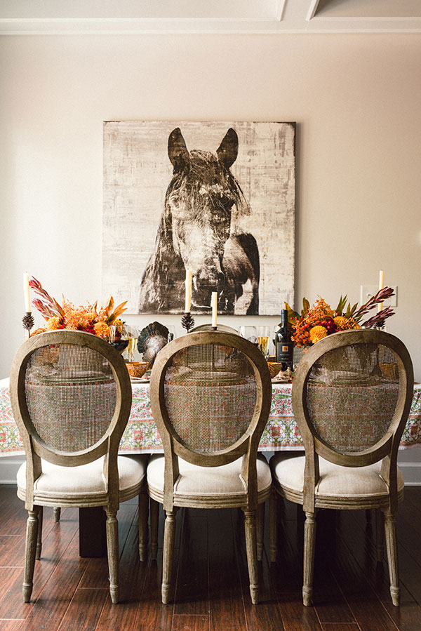 Southern Thanksgiving tablescape inspiration