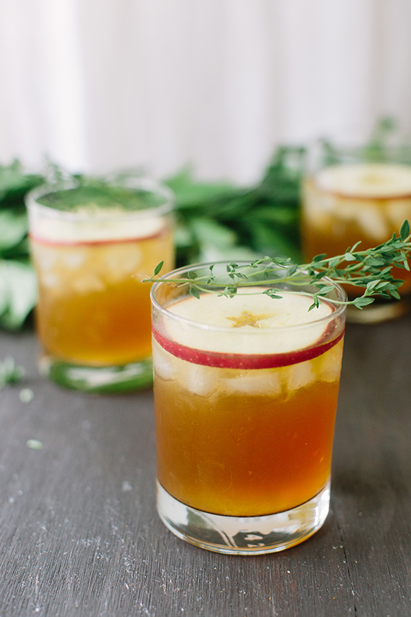 Stop! Apple Thyme Cocktail recipe