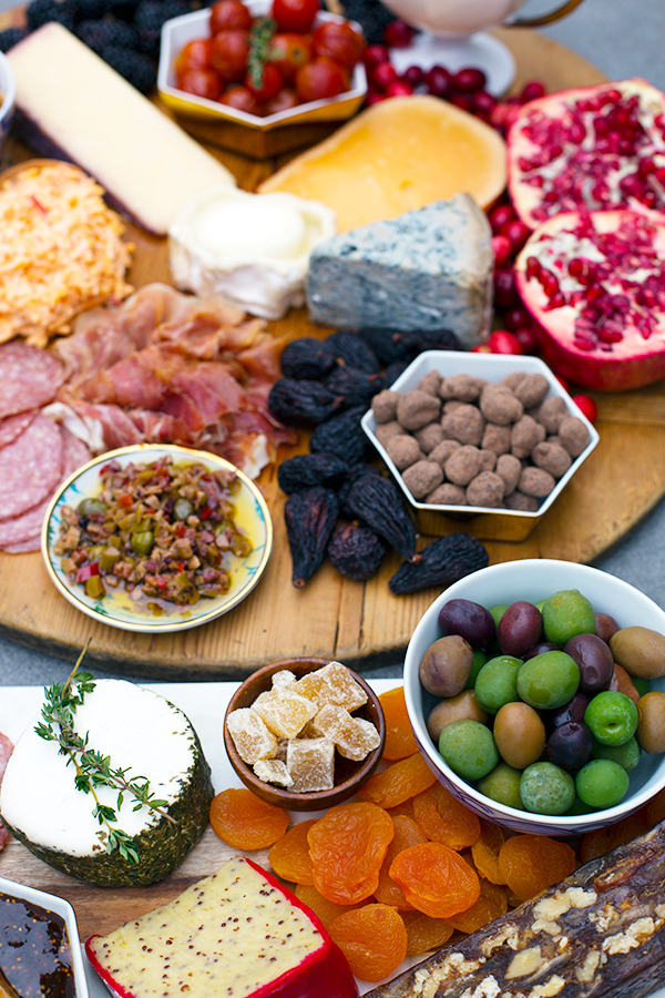Winter Cheese & Charcuterie Board Inspiration from Waiting on Martha