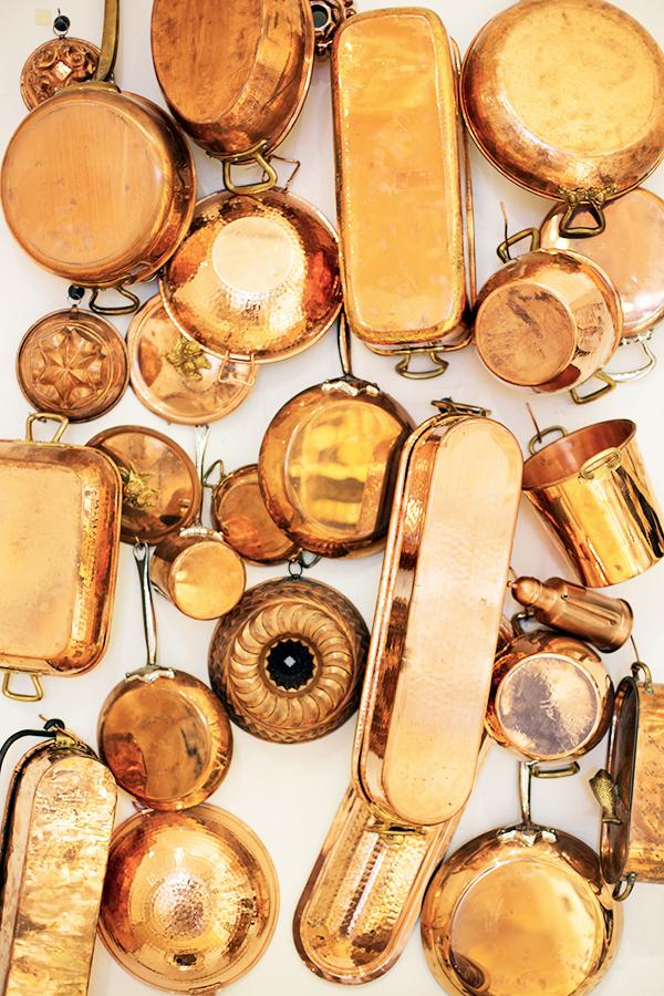 Williams-Sonoma original brass collection in Sonoma