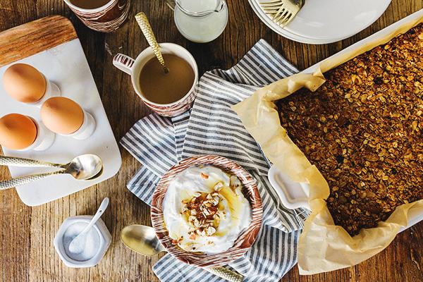 Homemade granola recipe by Waiting on Martha