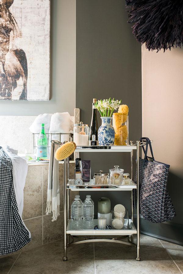 Bathroom Organization Ideas via Waiting on Martha