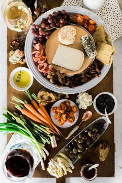 How to make a cheese platter via Waiting on Martha