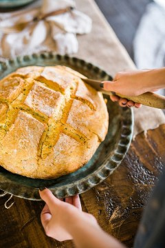 Irish soda bread recipe via Waiting on Martha