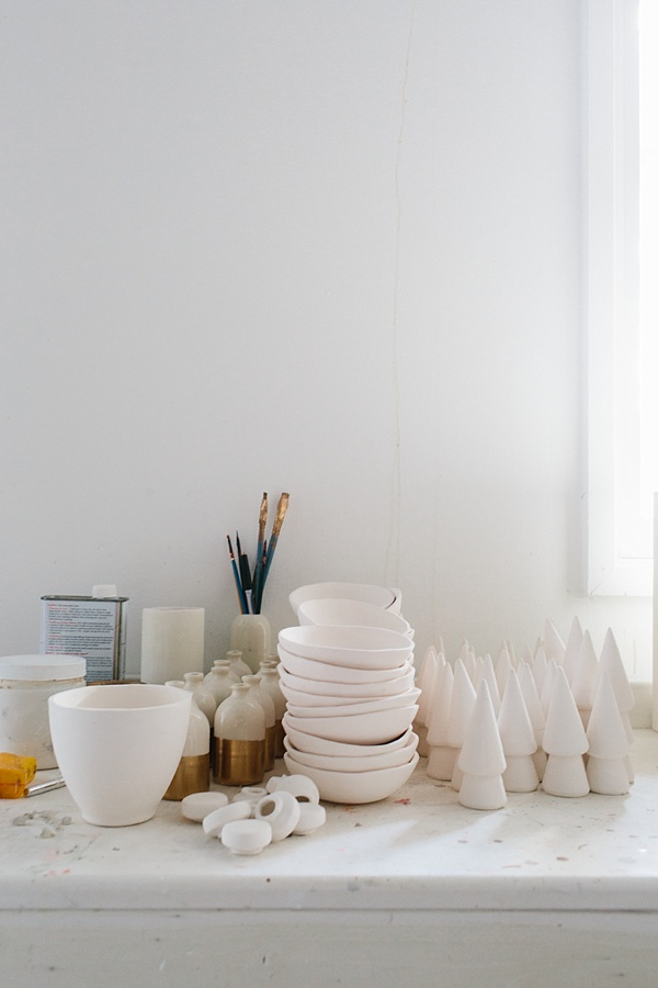 Small batch ceramics Honeycomb Studio interview on Waiting on Martha