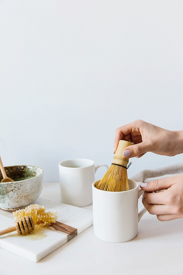 Hot matcha tea at home | waitingonmartha.com