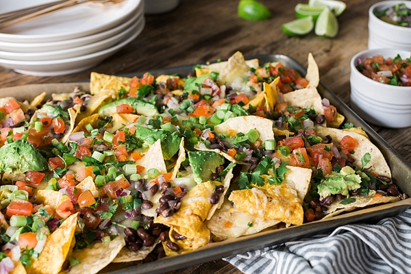 The best ever nachos via Waiting on Martha
