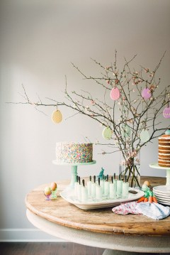 Easter dessert table inspiration via Waiting on Martha