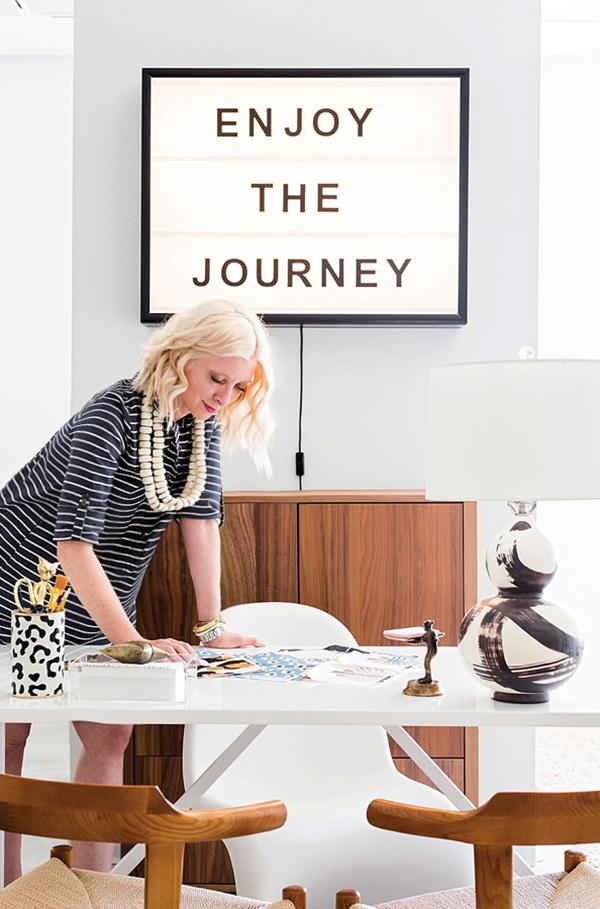 """Waiting on Martha office """"Enjoy the Journey"""""""