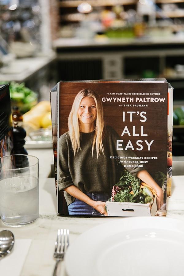 Gwyneth Paltrow's cookbook It's All Easy