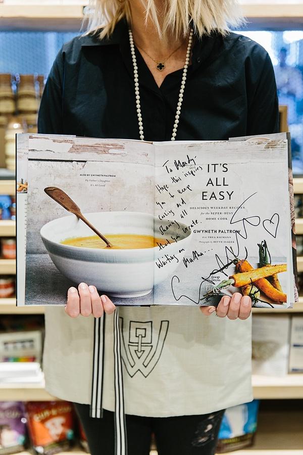 It's All Easy cookbook by Gwyneth Paltrow