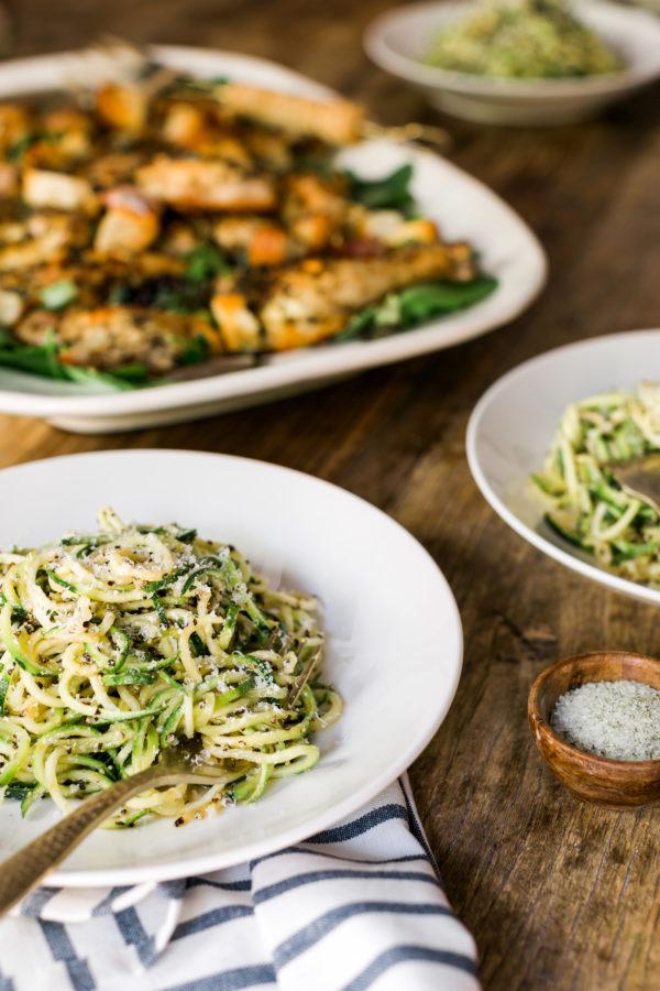 Zucchini Cacio e Pepe recipe from It's All Easy
