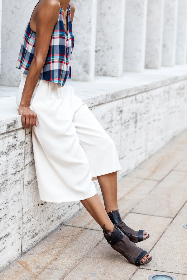 Relaxed-fit culottes