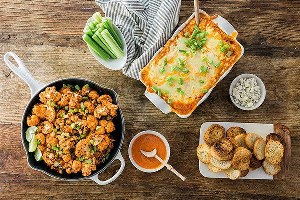 Spicy Buffalo Chicken Cheese Dip recipe by Waiting on Martha