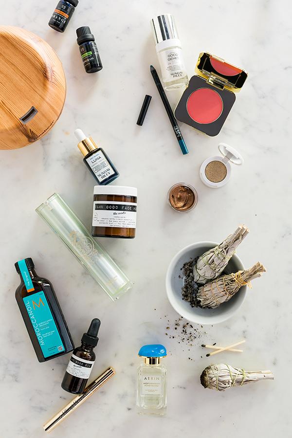 Essential oils, white sage smudge sticks, renewing serum, all natural face wash & more | @waitingonmartha