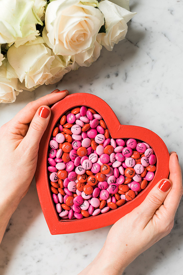 Our Top Ten Valentine's Day Gifts for Everyone on your list including personalized M&M's and Sugarfina Gummies, Waiting On Martha