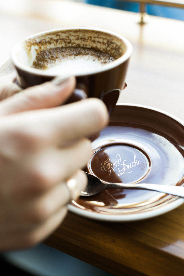 Morning coffee moments, Waiting on Martha