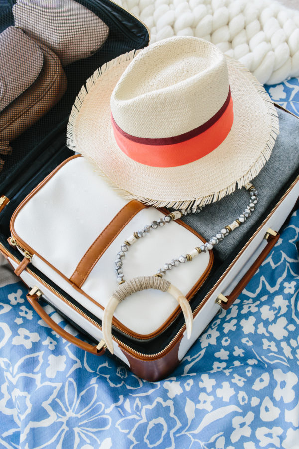 Easy travel packing tips on waitingonmartha.com