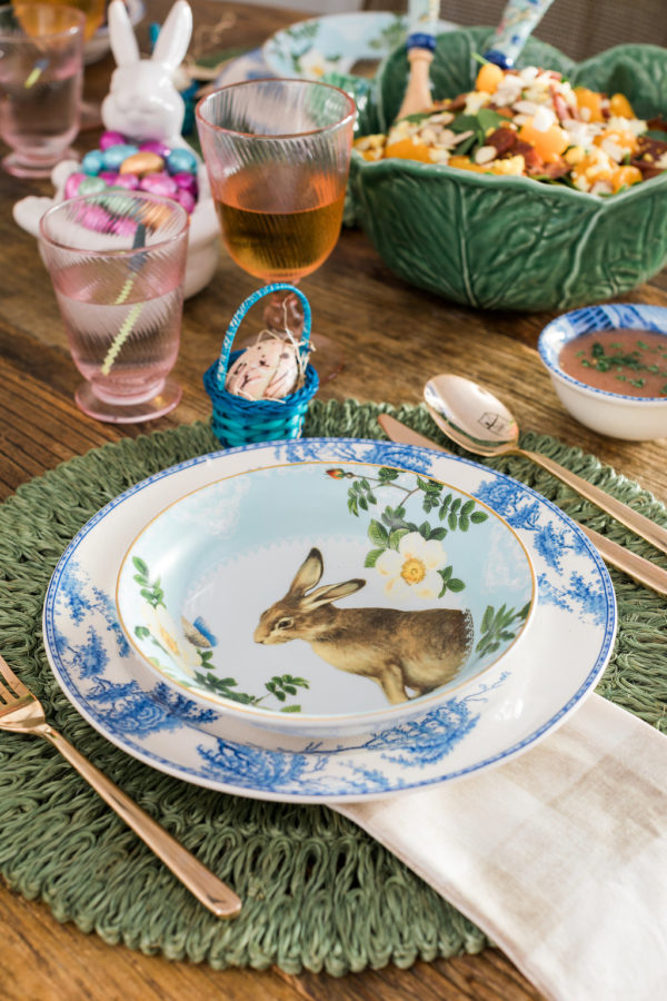 Easter table styling ideas via Waiting on Martha