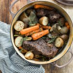 A Classic Red Wine Braised Pot Roast Welcome By Waiting On Martha